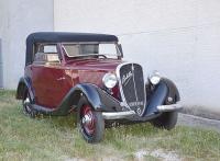 FIAT Balilla Cabriolet Garavini, 1934