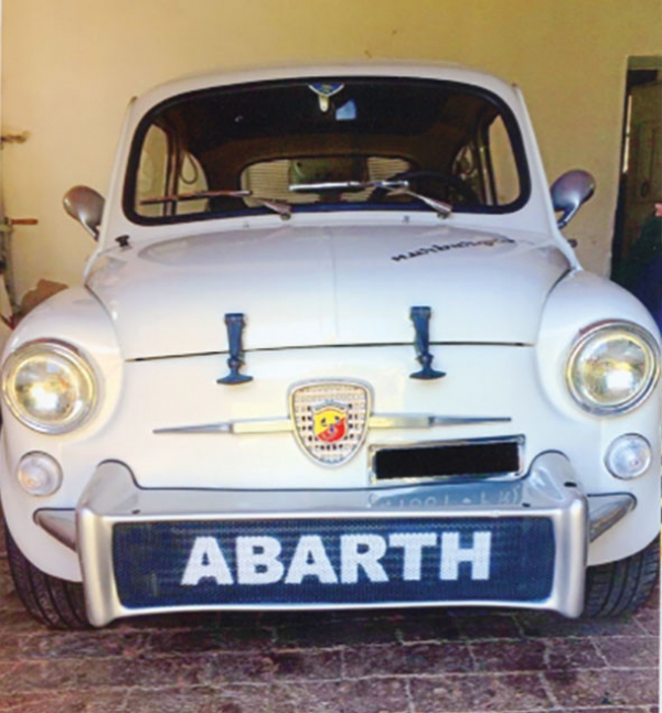 FIAt 600 replica Abarth 850, 1964